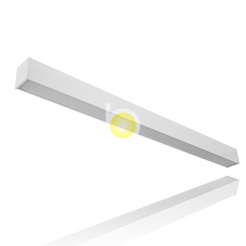 Aluminum Extrusion Led Direct Indirect Surface Mount Profile Linear Lighting Fixture Modern Suspension Recessed