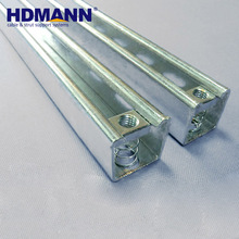 Best Selling Product Outdoor hot dipped galvanized Unistrut Steel U Channel Vendor