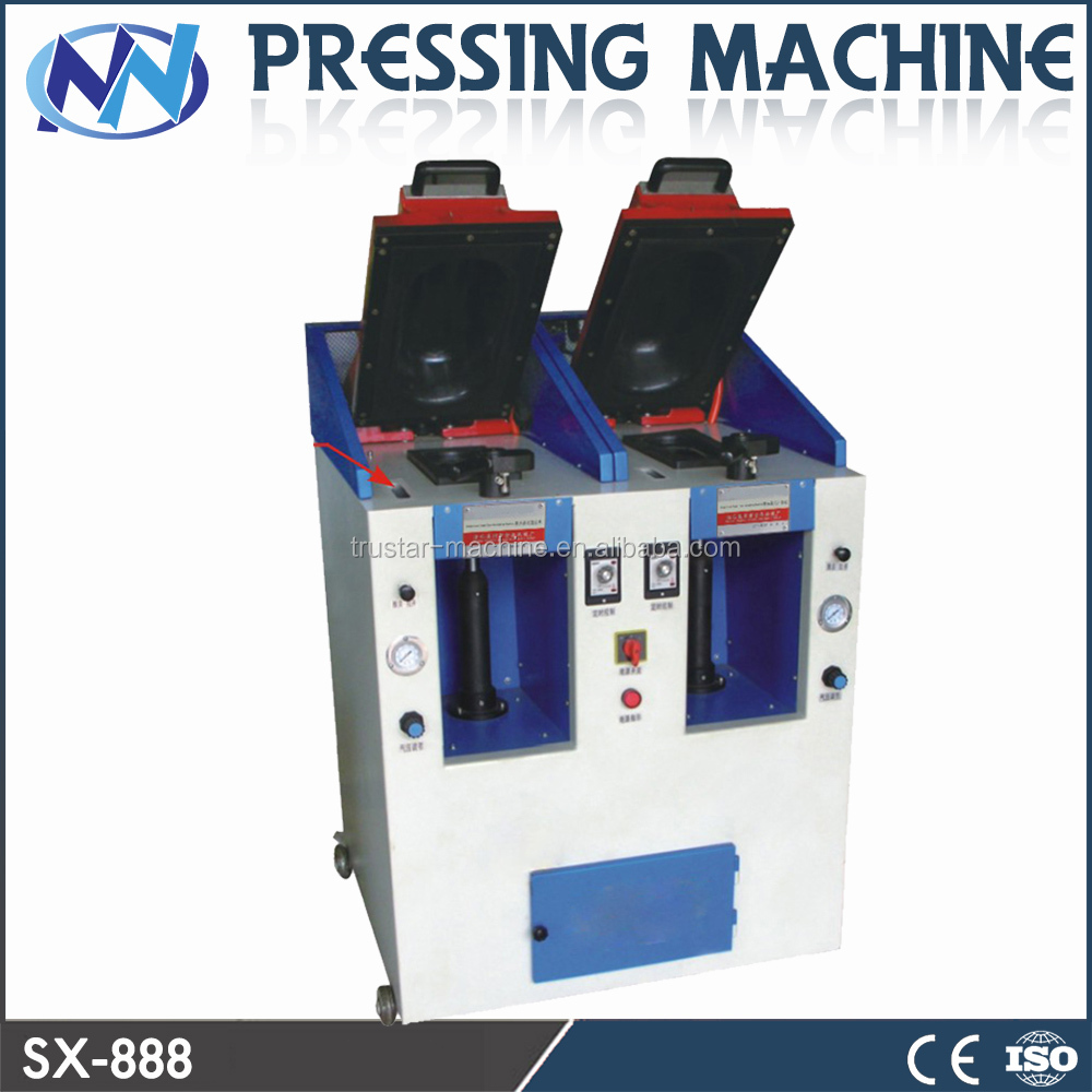 double head Cover Type Sole Attaching Machine