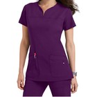 Stylish Medical Scrubs Nursing Uniforms For Men And Women/Hospital Scrub Tops And Pants Uniform Clothing