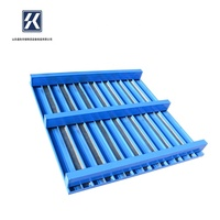 Custom Production Pallet For Steel Coil Stackable Steel Pallet