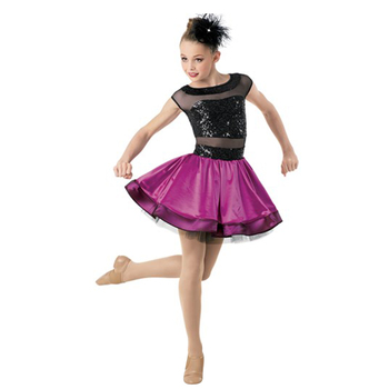 9cc1a24ddc14 Custom professional tutu contemporary dance costumes jazz purple dance  costume