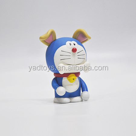 Custom make doraemon shape action figure