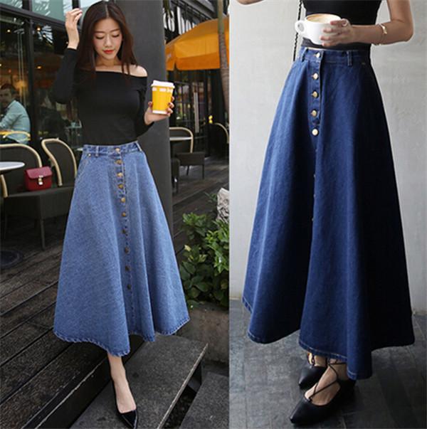 2016 Wholesale Latest Dress Design Girls Women High Waist Denim ...