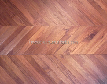 Parquet Chevron big leaf acacia chevron parquet floor - buy acacia chevron parquet