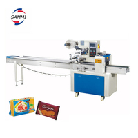 automatic pillow packer, moon cake packing machine