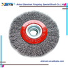 2015 wholesale round swimming pool brush/steel wire brush