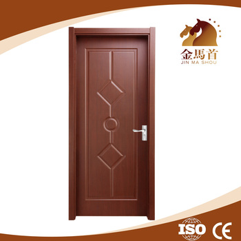 Interior pvc film laminated flush door designs buy for Bed room gate design