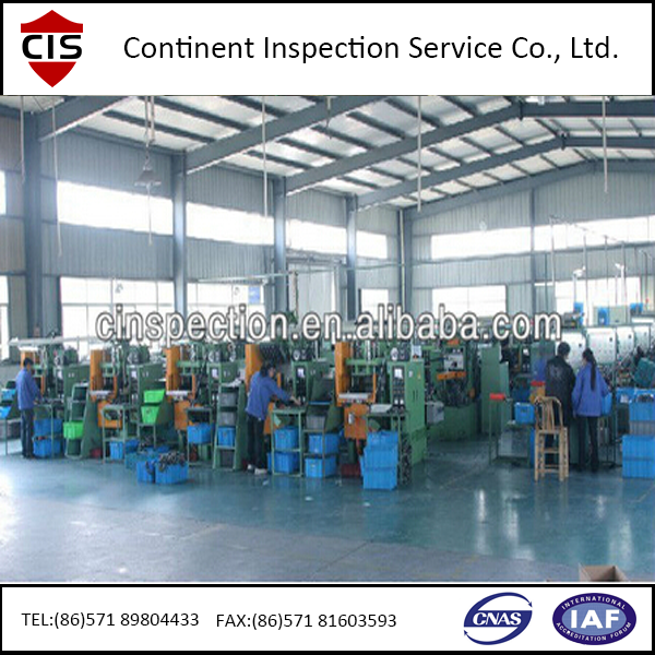 Factory Evaluation/Inspection and quality control service in China