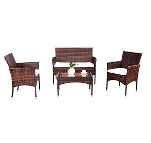 CE assurance quality outdoor patio rattan/wicker furniture sets