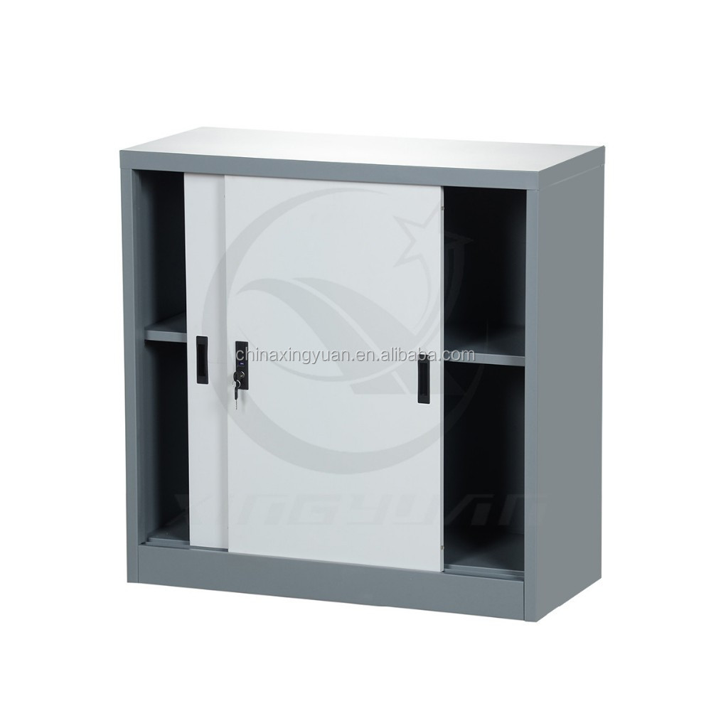 Metal Lockable Cabinet With Sliding  Door