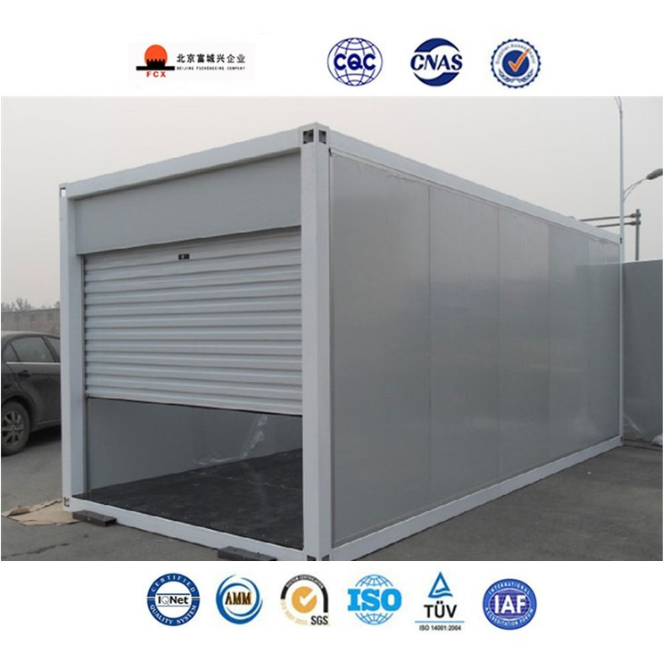 Customized easy installed mobile garage for car buy for Garage mobile rennes