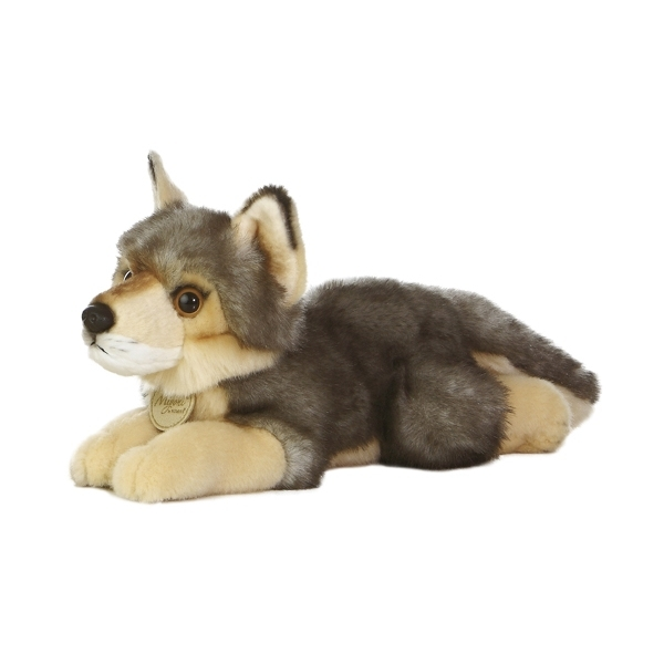 lovely custom baby wolf plush toy
