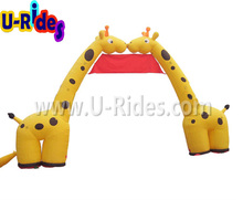 inflatable animals arch