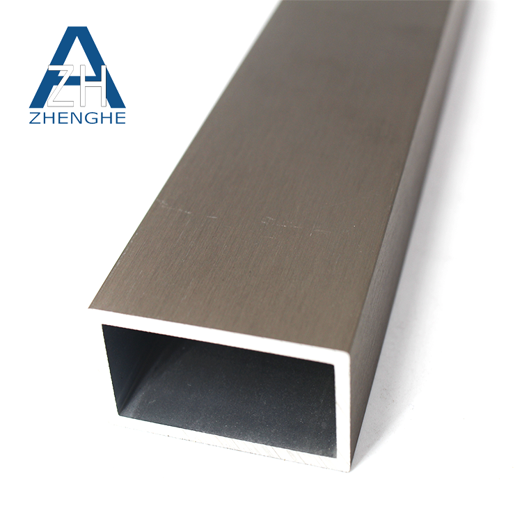 zhenghe customized extruded triangle 6063 aluminum extrusion profile