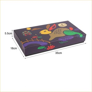 china design luxurious moon cake box