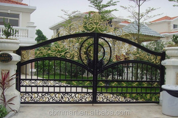 Garden Gate Designs i have a thing for garden gates love the curlicues on this one Wrought Iron Gate Main Gate Designs Home Vila Park Garden Gate Designs 0355