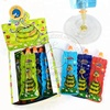 Funny snake shape jelly jam fruit flavors liquid candy