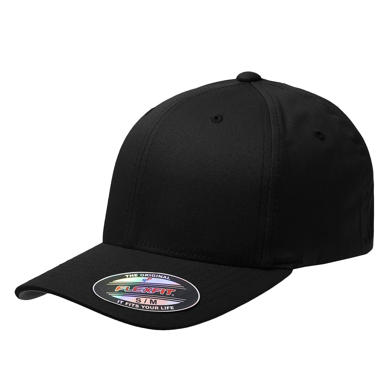 47a897eca5c5c Get Quotations · Premium Original Flexfit Yupoong V-Flexfit Cotton Twill  Fitted Hat cap 5001
