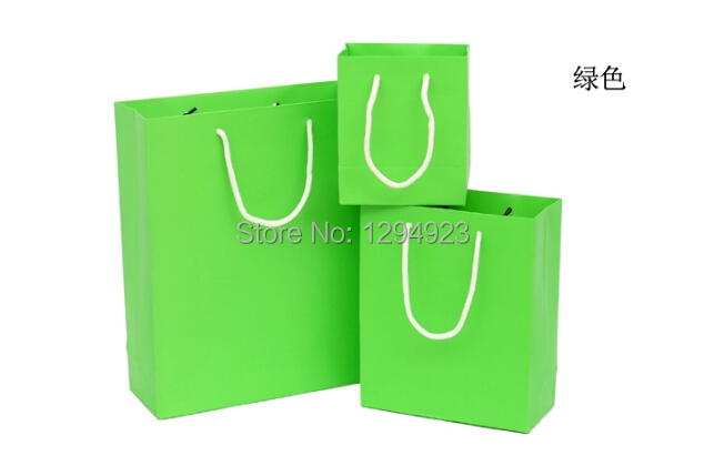 Size 13 8 15 5cm Small Green Candy Color Paper Ping Bag Yellow Cardboard Gift Packaging Bags In Price On M Alibaba