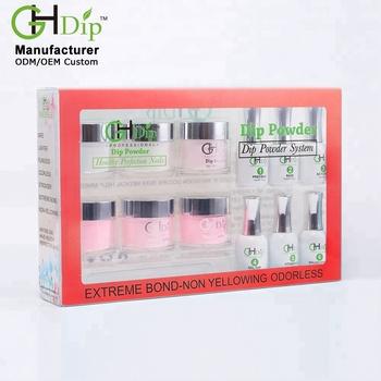 wholesale color 15oz acrylic dip powder french nails