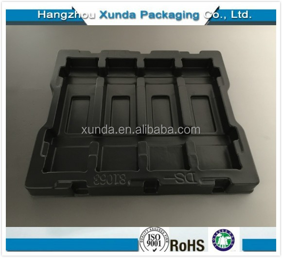 electronic tray make by plastic blister packaging
