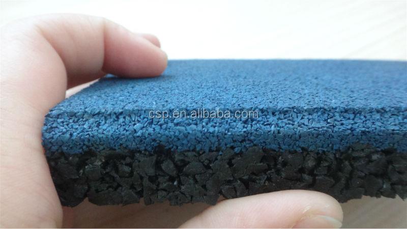 U v resistenza gomma piastrelle per esterni blu piastrelle in