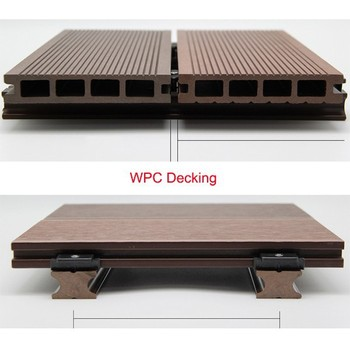 Exterior Wood Plastic Composite Flooring Outdoor Wpc Deck