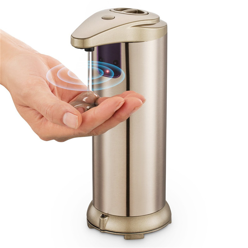 Factory Price Stainless Steel Wholesale Touchless Automatic Soap Dispenser