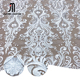 Luxurious embroidery ivory white embroidery bridal lace fabric
