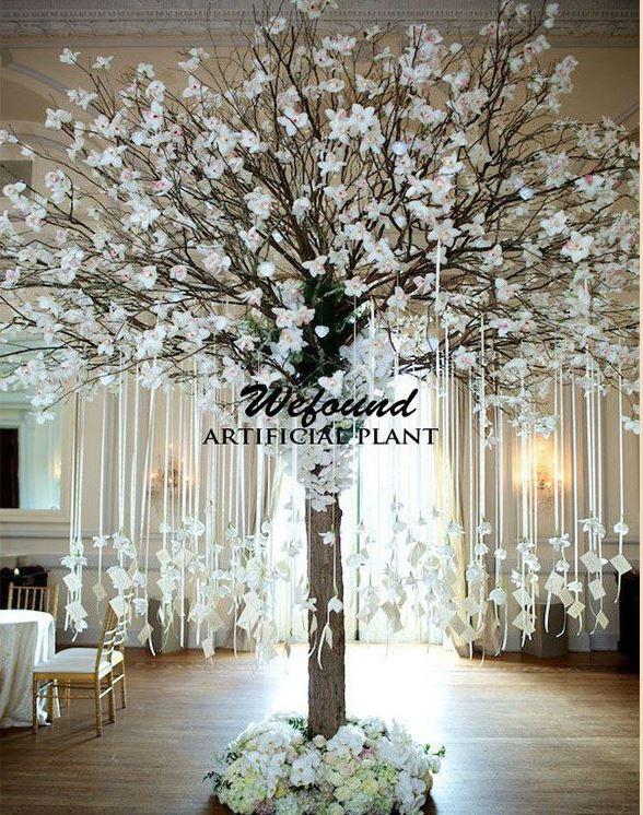 new hot arbre artificiel pour le mariage cherry blossom arbre pour la d coration de mariage. Black Bedroom Furniture Sets. Home Design Ideas