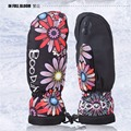 1 Pair Quality Winter thermal Ski Gloves Waterproof Cool resistant Snowboard gloves Men Womens guantes for