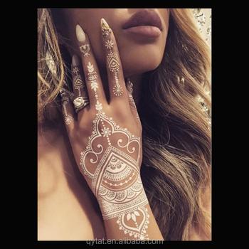 Pribadi Ramah Lingkungan Khusus Tato Henna Putih Pernikahan Buy