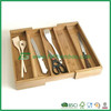 High quality bamboo cutlery tray for kitchen utensils