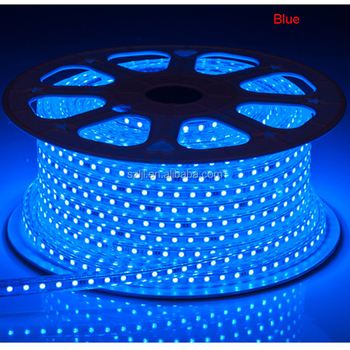 Blue 5050 Smd Waterproof Ip67 60leds M