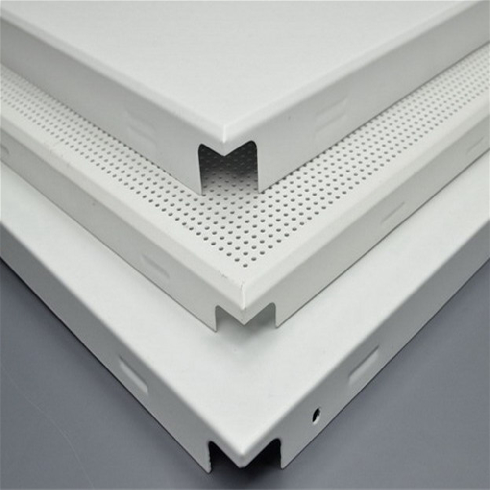 Metal Ceiling System Aluminum Square Clip In Ceiling Tile