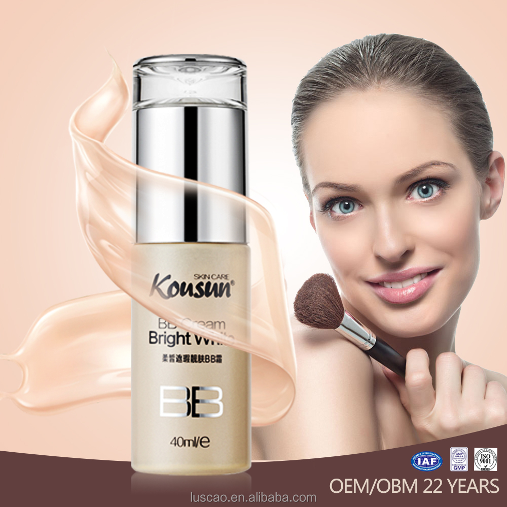 OEM/ODM/OBM Best waterproof bb cream for dry skin with ISO22716
