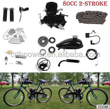 Bicycle gas engine kit/Motor bicicleta/gasoline engine for bicycle