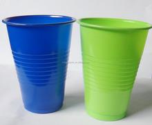 16 oz ps en plastique jetable tasse bleu fonc et lime green - Assiette Jetable Mariage