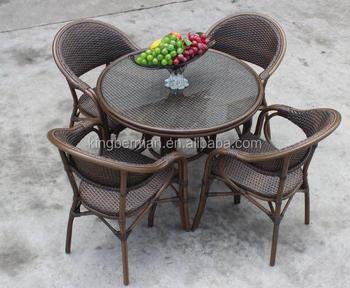 Hoge Kwaliteit Rotan Bistro Set Franse Bistro Stoelen Bamboe Bistro Set Buy Goedkope Bistro Set,Franse Bistro Tafel Sets,Bamboe Eettafel Stoel Set