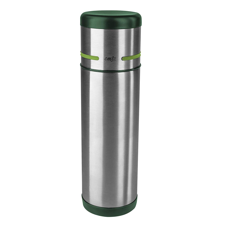 Emsa Travel Mug Vacuum Jug 0 36 L Stainless Steel Coffee Tea Jug Vacuum Flask