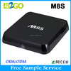 Top M8S AMLogic S812 2gb 8gb quad core smart magic box tv receiver