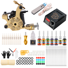 Fabbrica di Solong Tattoo Supply Commercio All'ingrosso Permanente Facile RotaryTattoo Kit Macchina <span class=keywords><strong>A</strong></span> <span class=keywords><strong>Buon</strong></span> <span class=keywords><strong>Mercato</strong></span> Completi Principianti Professionale Del <span class=keywords><strong>Tatuaggio</strong></span> kit