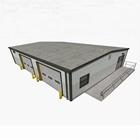 Prefabricated Steel warehouse / workshop / hangar / hall steel structure price