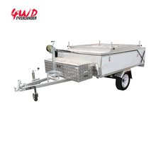 High quality Outdoor Hard Floor Camper Trailer for 3-4 Person