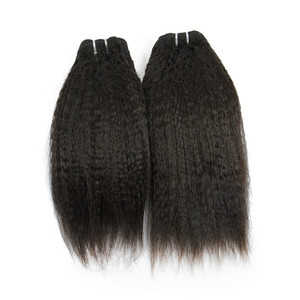 Raw virgin kinky straight quality wholesale price indian remy human hair 4a