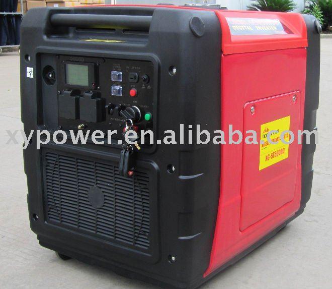7 5kva Lcd Xg-sf5600d Diesel Inverter Generator/inverter Generator/digital  Inverter Generator With Epa,Emc,Gs,Csa,Ce - Buy Inverter Generator,Digital