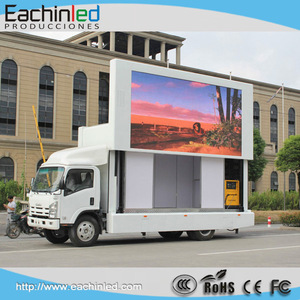 10mm outdoor full color advertising led mobile billboard for sale