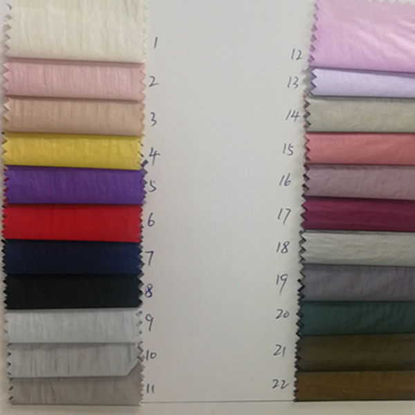 Factory Stocklot Ready Fabric Film Membrance Pu 20D 400T Or 420T  Colorful Shinny Or Full Dull  Transfer Pu Stock Embossed