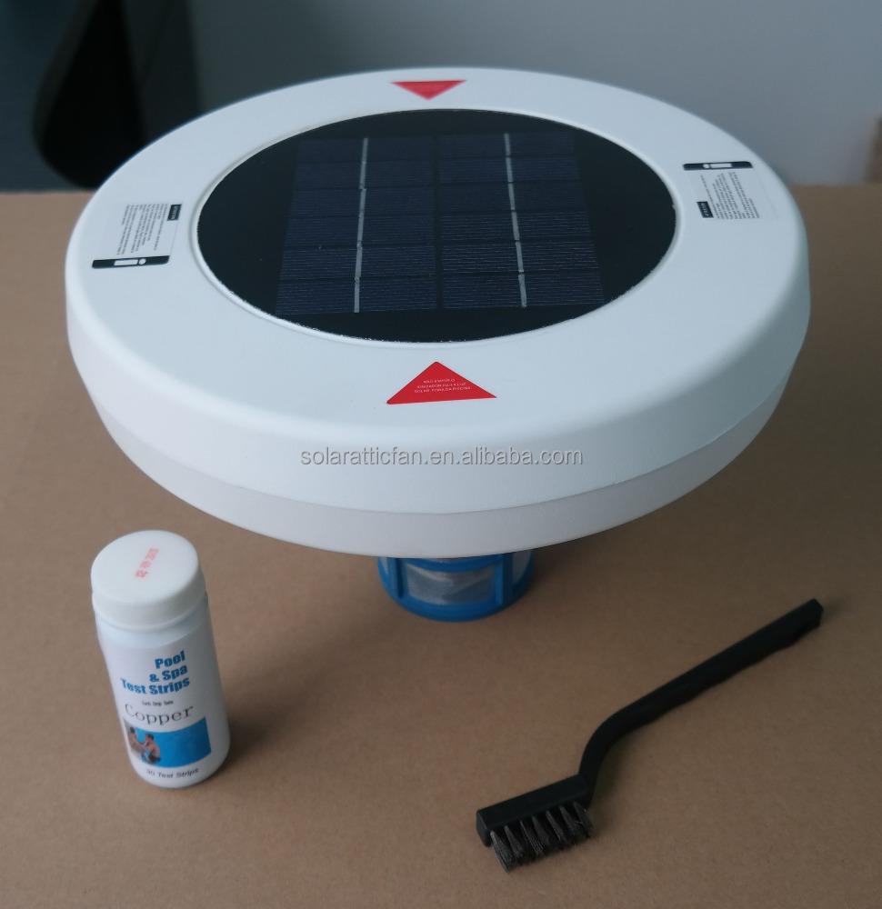 Sal Livre De Cloro Piscina Ionizador De Energia Solar Piscinas E Acess Rios Id Do Produto
